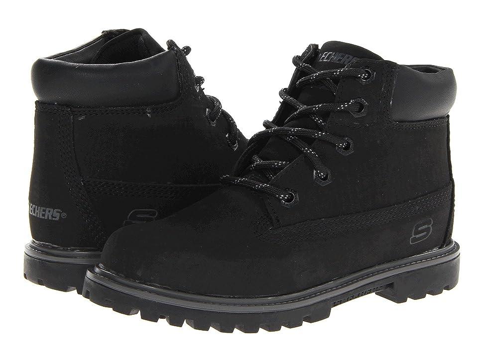SKECHERS KIDS Mecca Bunkhouse 93158L (Little Kid/Big Kid) (Black) Boys Shoes