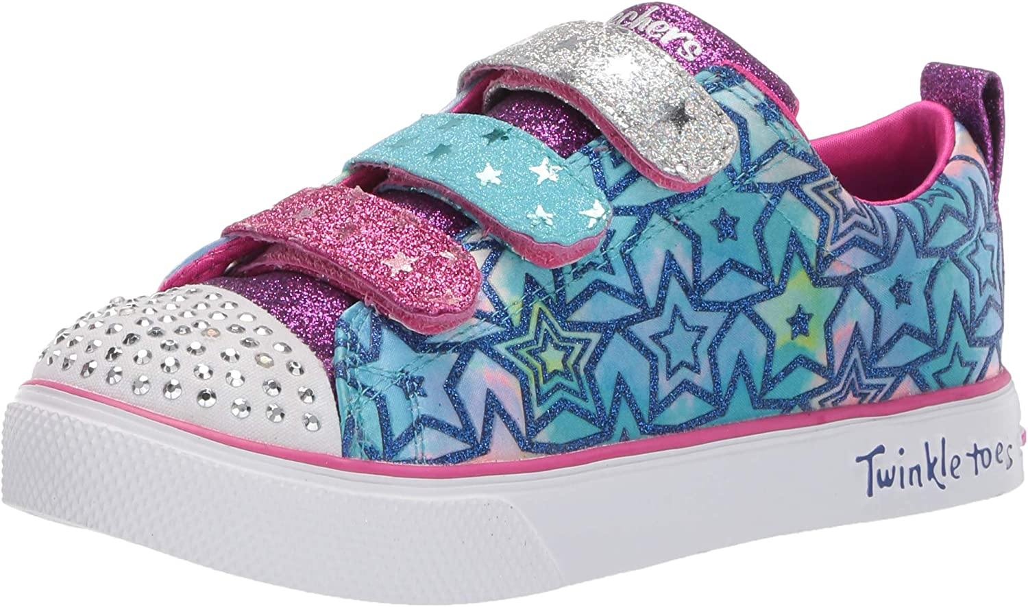 Skechers Unisex-Child Twinkle Free shipping anywhere in the nation sale Breeze Sneaker Du 2.0-Sparkle