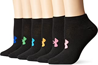 Women's Essential No Show Socks, 6-Pairs