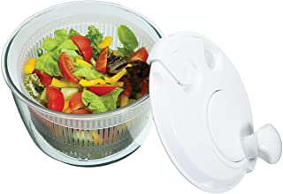 Kitchen Craft Mini Salad Spinner Centrifuga de Esaladas Compacta, Blanco