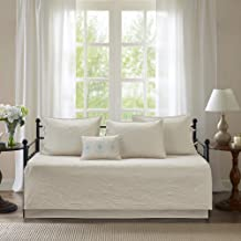 Madison Park Peyton 6 Piece Daybed Cover Set Ivory Daybed