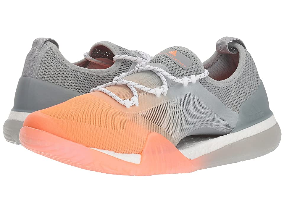 adidas by Stella McCartney Pure Boost X Tr 3.0 (Glow Orange S14/Eggshell/Grey/SMC/Footwear White) Women