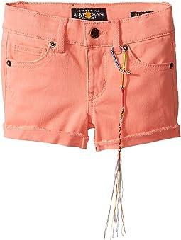 Riley Stretch Twill Shorts (Toddler)