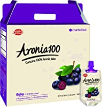 Chunho Food Aronia 100, Contains 100% Aronia Juice. Protects, Helps Against Stress and Fatigue, While Enhancing Immunity and Generating Energy. No Preservatives and Artificial Additives. …