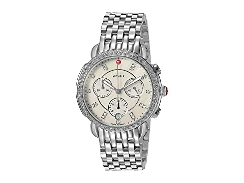 Michele Sidney Diamond Dial Watch