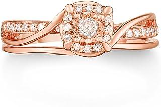 NATALIA DRAKE 1/4 Cttw 正品钻石方形戒指