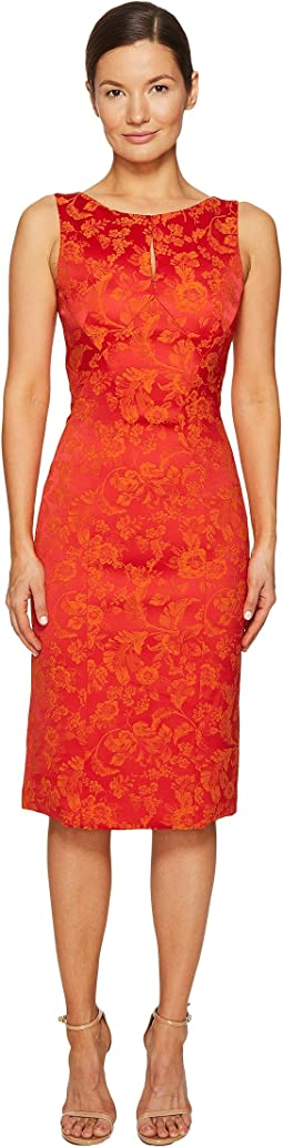Zac Posen - Party Jacquard Sleeveless Dress