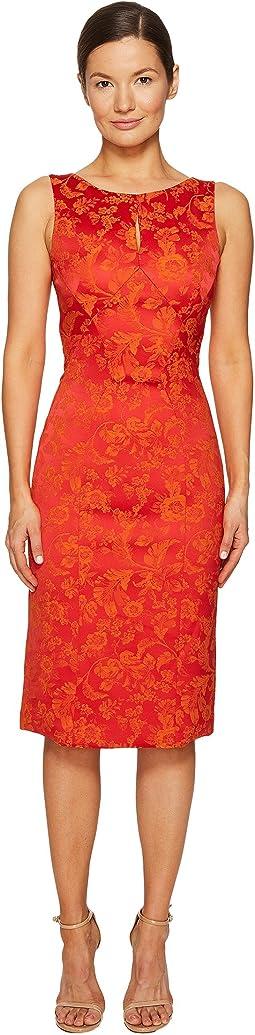 Zac Posen - Party Jacquard Sleeveless Dress