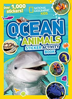 National Geographic Kids Ocean Animals Sticker Activity Book: Over 1,000 Stickers! (NG Sticker Activity Books)