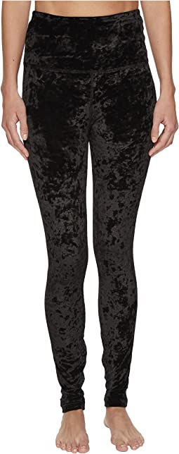 Beyond Yoga - Crushed Velvet High-Waist Long Leggings