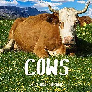 Cow 2021 Wall Calendar: Cow 2021 Calendar,18 Months