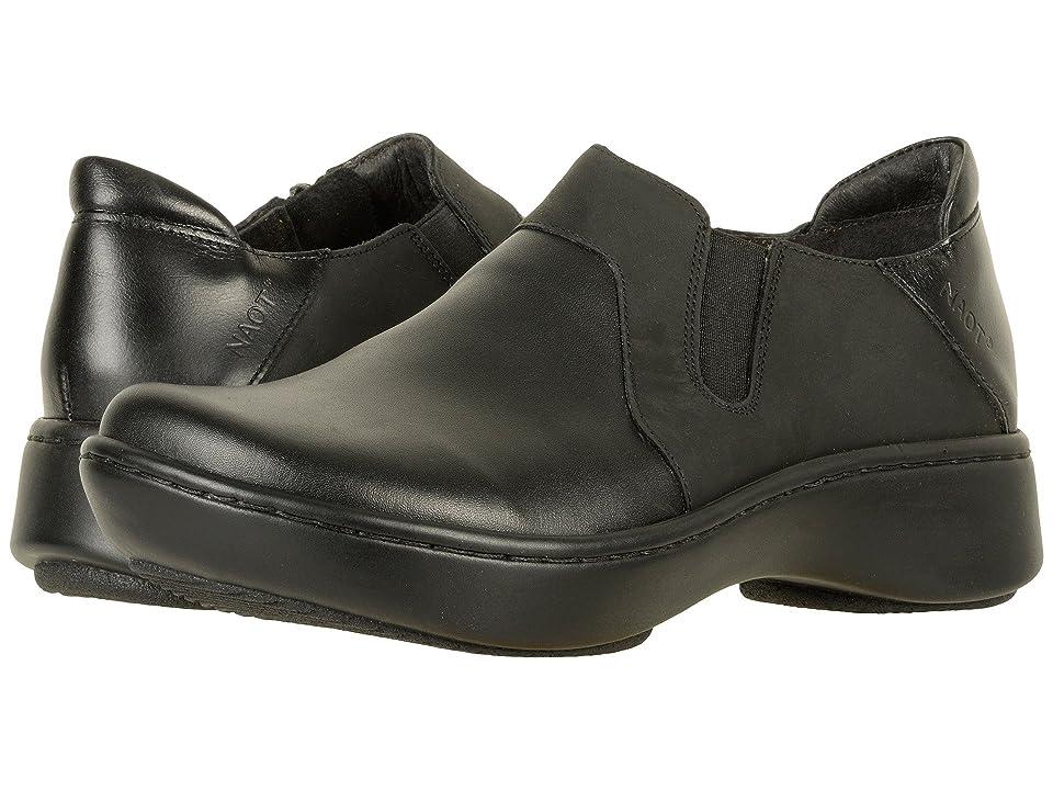 Naot Lenok (Black Raven Leather) Women