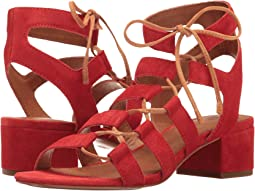 Red Soft Oiled Suede
