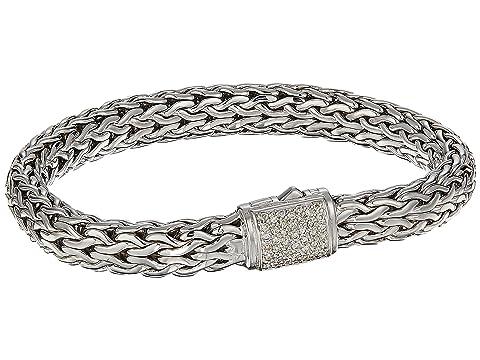 John Hardy Classic Chain 7.5mm Bracelet with Diamonds