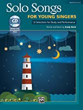 Solo Songs for Young Singers: 12 Selections for Study and Performance, Book & CD