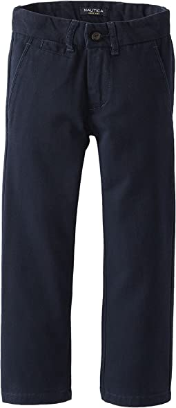 Nautica Kids - Flat Front Pants (Little Kids)