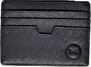 Women Slim Minimalist Credit Card case wallet Front Pocket RFID Blocking Leather Holder w/ID slot for Men
