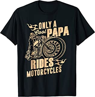 Best papa motorcycle shirts Reviews