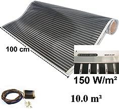 Termostato Beca Blanco WiFi Forma Redonda Kit Beca de Calefacci/ón El/éctrica Por Suelo Radiante Caja Roja de 200 W Termostato Blanco WiFi Inal/ámbrico Nassboards Premium Pro 9.0m/²
