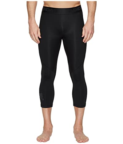 adidas Alphaskin Sport 3/4 Tights (Black) Men