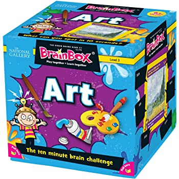 Green Board Games BrainBox Art- Juego de Mesa (en inglés ...