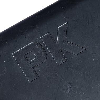 PK Grills SSB-X Original PKTX Outdoor Portable Aluminum Charcoal Grill and Smoker, Medium, Silver