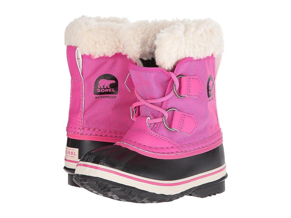 SOREL Kids Yoot Pac Nylon (Toddler/Little Kid) (Haute Pink) Girls Shoes