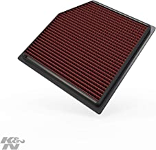 K&N engine air filter, washable and reusable: 2010-2019 Lexus/Toyota (GS 300, GS 350, IS 300, IS 350, RC 300, RC 350, GS 300, GS 350, Vellfire, Alphard, Mark X) 33-2452