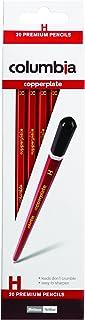 Columbia Copperplate Lead Pencil Hexagonal H Bx20