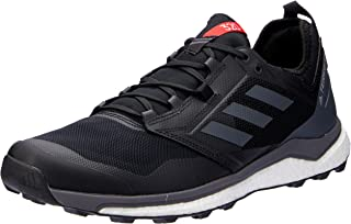 adidas Australia Men's Terrex Agravic XT Trail Running Shoes, Core Black/Grey/Hi-Res Red