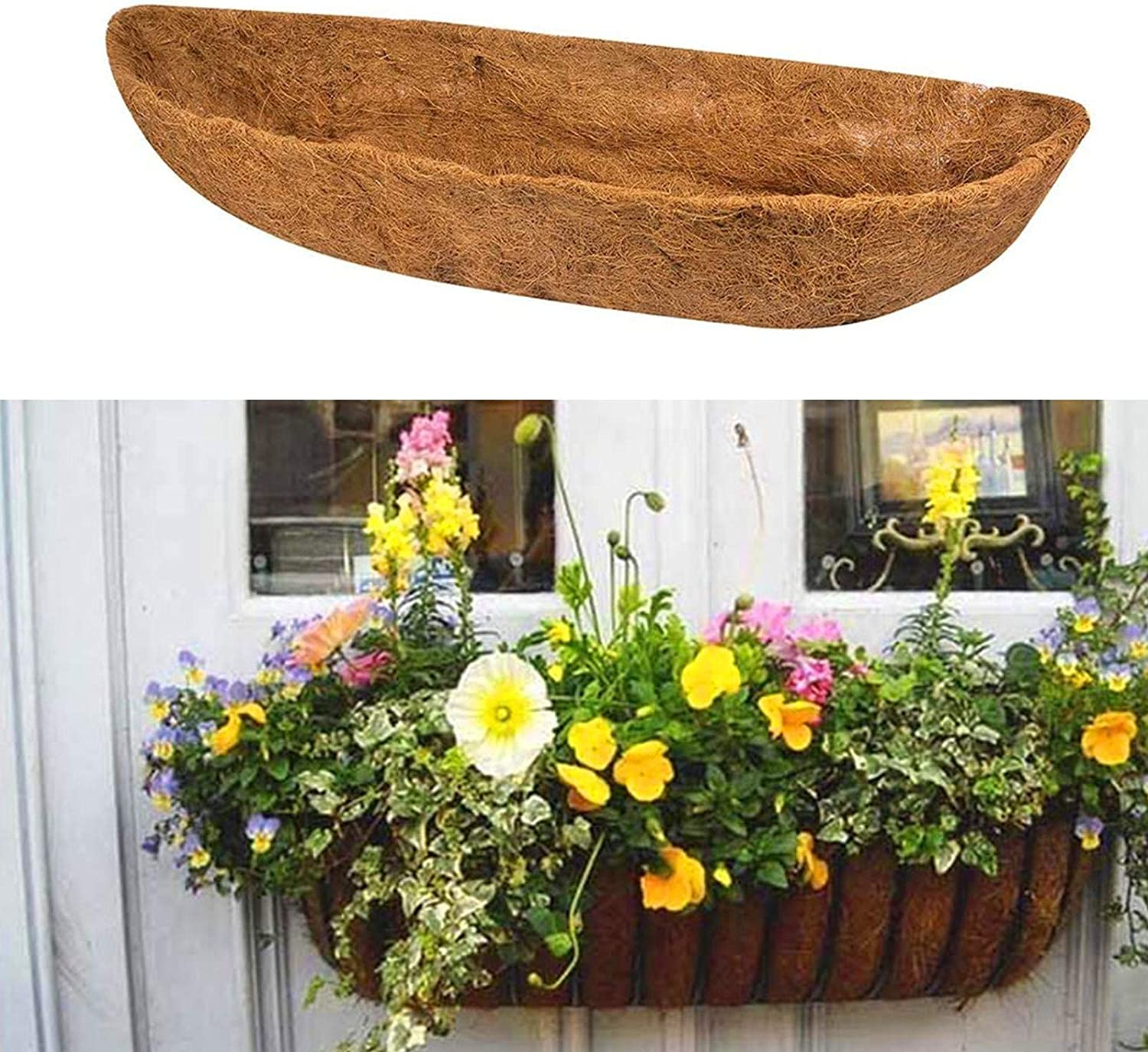 BerryChips Horse Trough Coco Fiber Selling and Manufacturer direct delivery selling Replacement Natural Liner 24