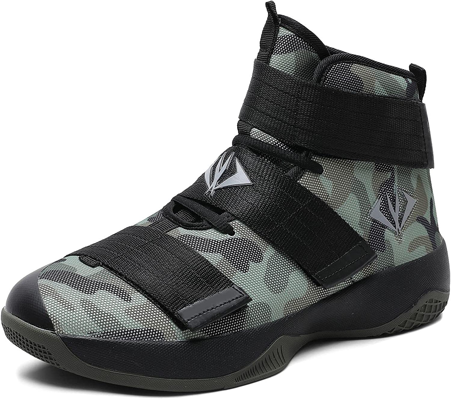 Max 89% OFF MAUGELY Men's Women's Velcro Shoes Breathable Basketball Year-end gift Student