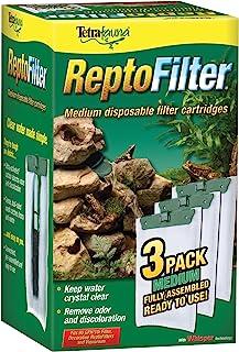 Tetra ReptoFilter - Cartuchos de Filtro con tecnología Whisper, Verde, Medium, 3-Pack