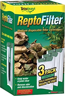 Tetra ReptoFilter Filter Cartridges, With Whisper Technology