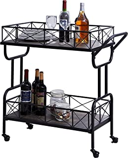 Best cheap vintage bar cart Reviews