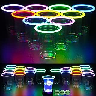 Shop Zoombie Moon Blaster Glow in The Dark Air Balls Night Time Games Parti...
