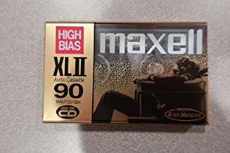MAXELL XL-II C90 Blank Audio Cassette Tape 2 pack (Discontinued by Manufacturer)