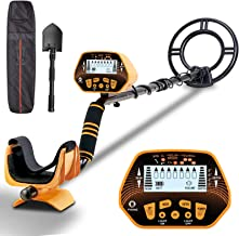 Metal Detector – SUNPOW High Accuracy Metal Detector for Adults & Kids, LCD..