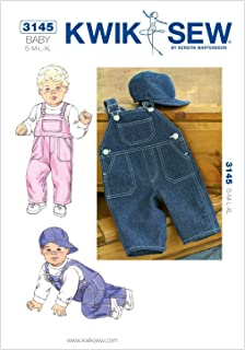 baby overall sewing pattern
