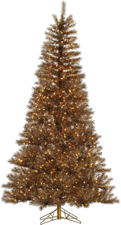 Vickerman 6.5' Metal Milwaukee shop Mall Mix Tinsel Clear Artificial Tree Christmas
