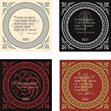Dark Horse Deluxe Game of Thrones: Quotes Coaster Set