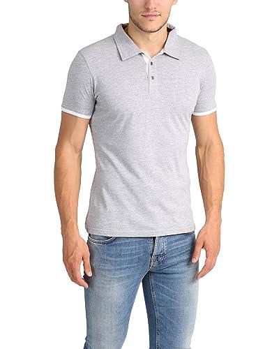 c304b617 White Polo Shirts: Amazon.co.uk