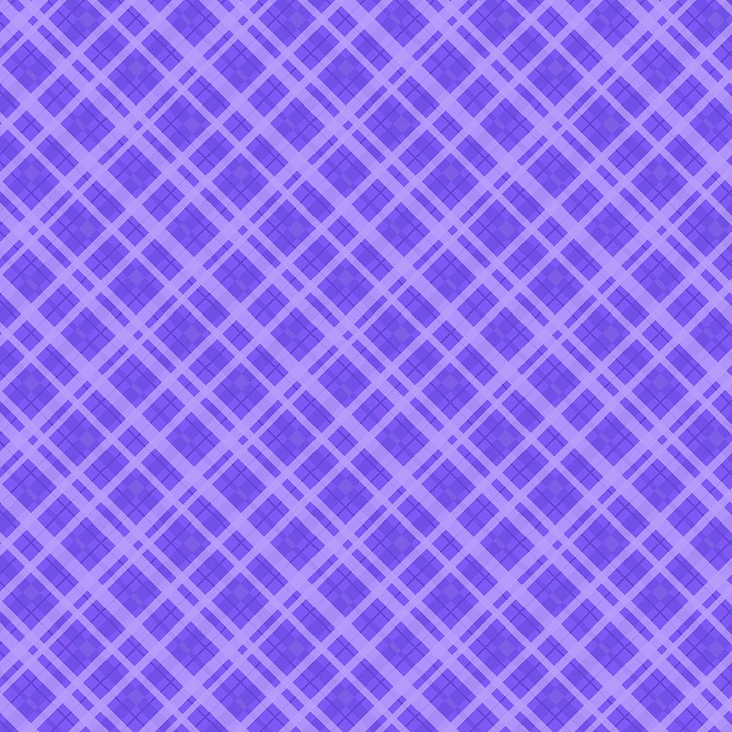 American Crafts Core'dinations 12 Pack of 12 x 12 Inch Patterned Paper Purple Plaid,