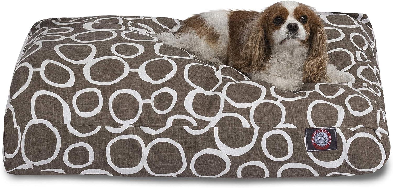 Pet Fusion Mocha Medium Rectang Pet Bed