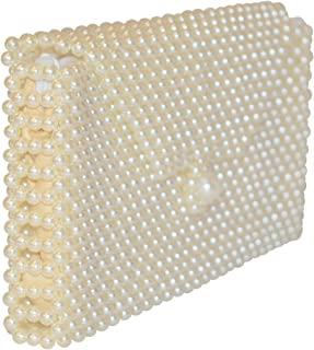 Padmas Jewellery Cream White / Pearl White Women's Wallet