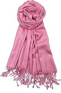 9c6f7309fa Amazon.com: Pinks - Wraps & Pashminas / Scarves & Wraps: Clothing ...