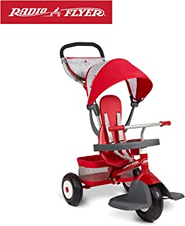 Radio Flyer Ultimate All-Terrain Stroll 'N Trike, Red