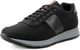 f5c7657fd Prada Men's Nylon Tech Trainer Sneaker, Nero (Black) 4E3341