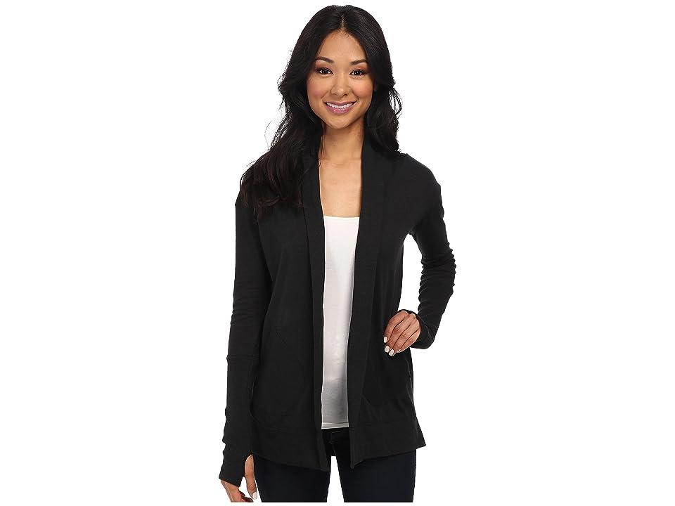 Alternative Eco Jersey Rib Sleeve Wrap (Eco True Black) Women