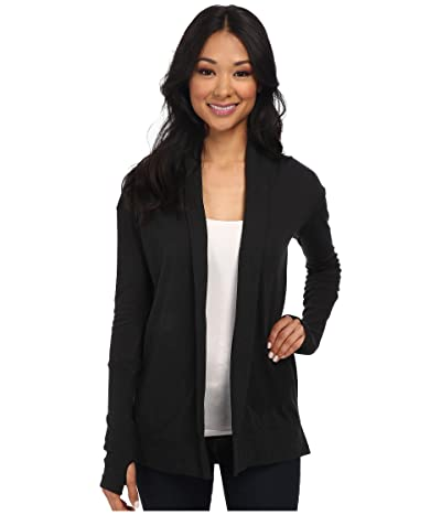 Alternative Jersey Rib Sleeve Wrap (Eco True Black) Women